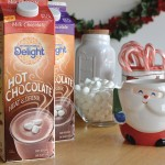 Celebrating The Spirit of the Holidays- Simple Nog & Hot Cocoa Bar #ShareYourDelight