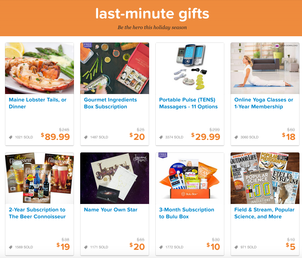 living social gifts
