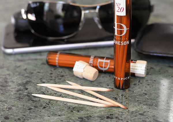daneson high end toothpicks and holder