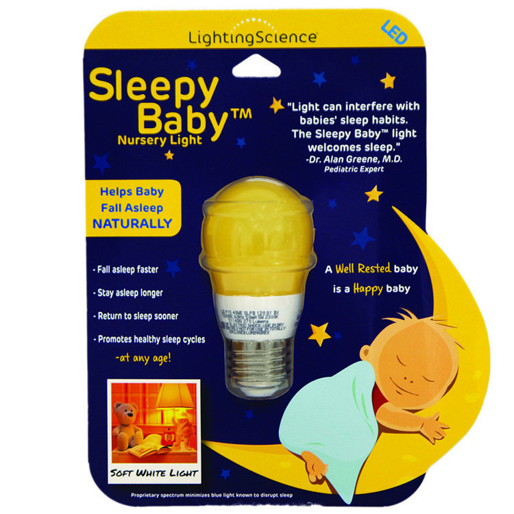 Sleepy Baby nursery light for baby