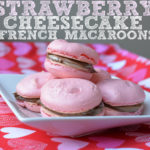 Simple Strawberry Cheesecake French Macaroons