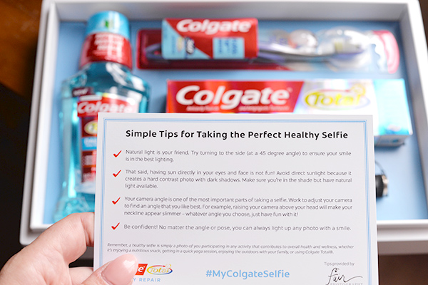 Colgate Products Selfie Smile Kit