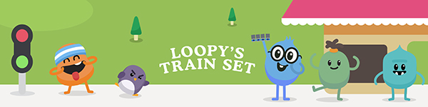 Loopy's Train Set banner