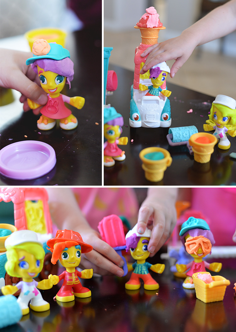 PlayDoh Town figures people