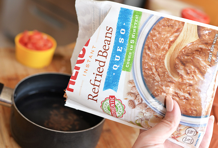 Instant Refried Beans Just Add Water