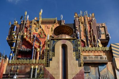 Disneyland Guardians of the Galaxy Mission: BREAKOUT! ride DCA