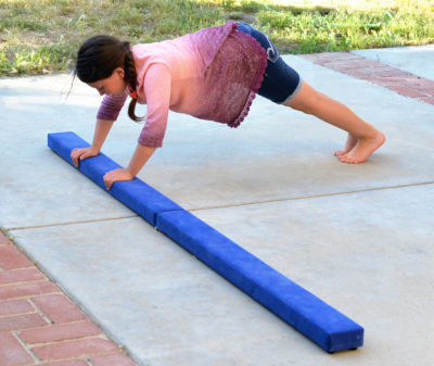 balance beam workout kids products family fitness