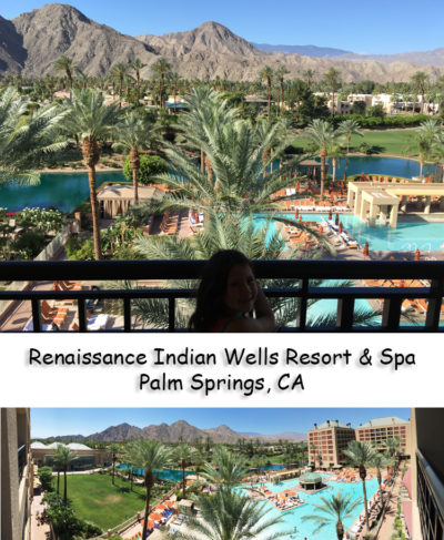 hotels Renaissance Indian Wells Resort and Spa balcony view