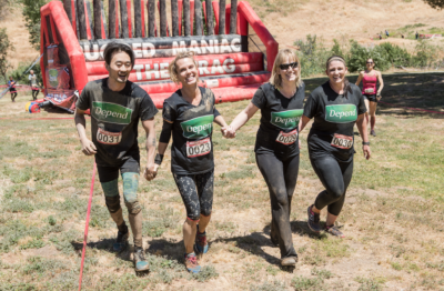 Depend Sponsor Rugged Maniac 2017 Castaci Lake SoCal Events