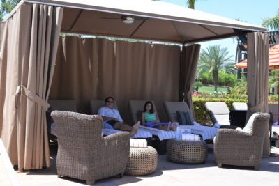Renaissance Indian Wells Resort Cabana pool