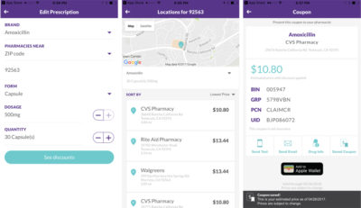 searchRX app save money