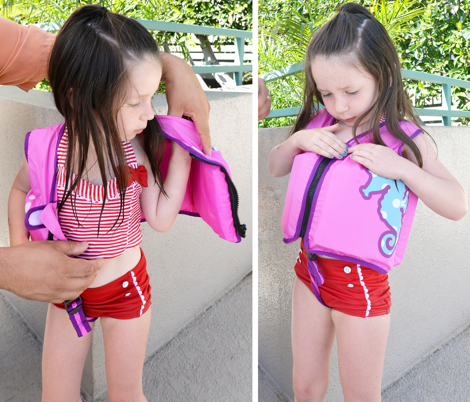 swimways swim vest toddler