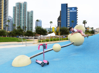 Socal family activites park Downtown San Diego Down Waterfront Park