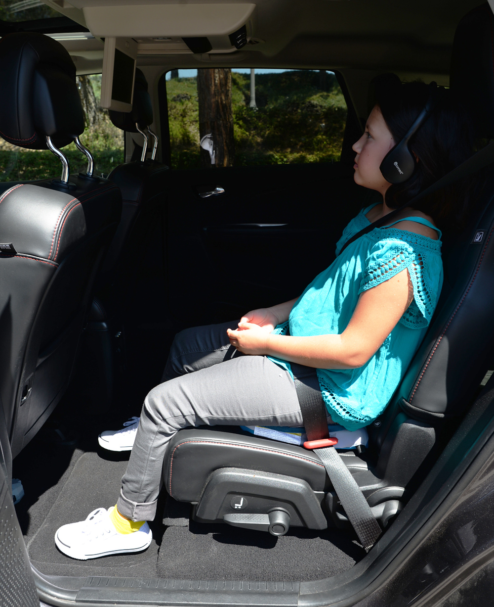 Bubblebum Inflatable Child Car Booster Seat For 4 To 11