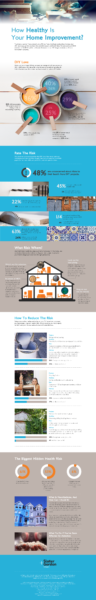 Home Improvement and Dangerous DIY Projects Infographic