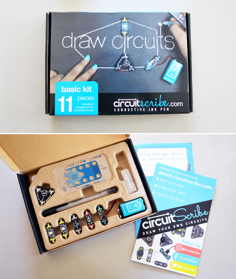 Circuit Scribe Stem Learning Educational Toys Our Ordinary Life Basic Kit The Contains A Pen