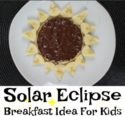 Solar Eclipse Breakfast Idea For Kids