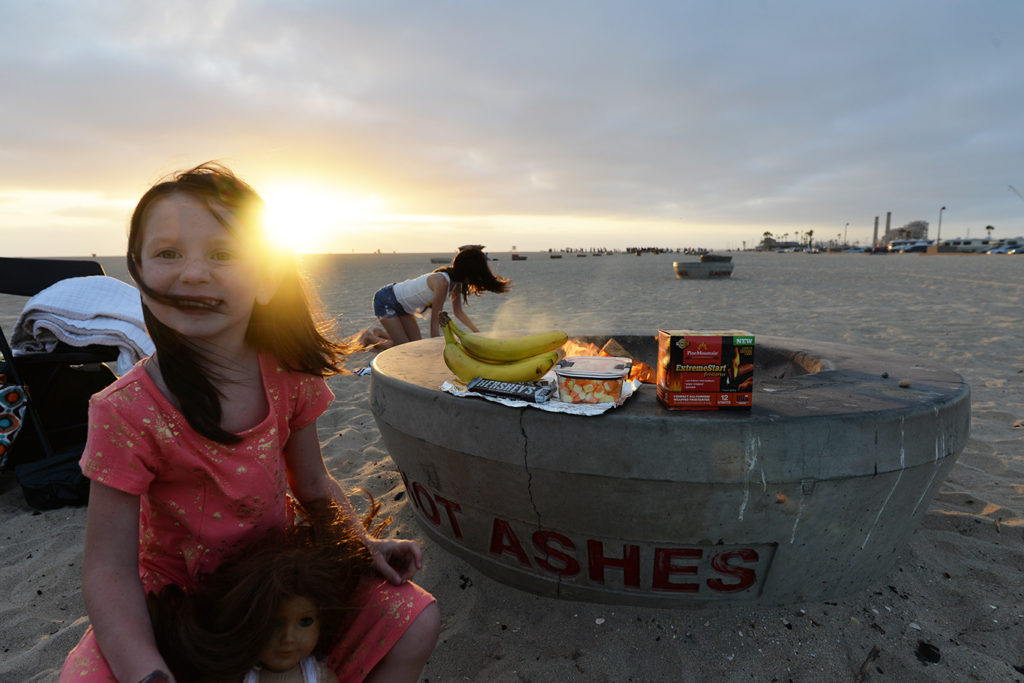 Huntington CA Beach Firepits