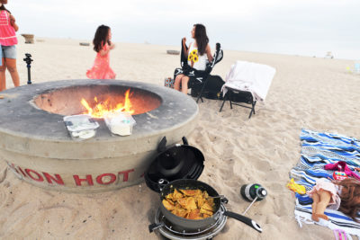 Chilaquiles at the beach