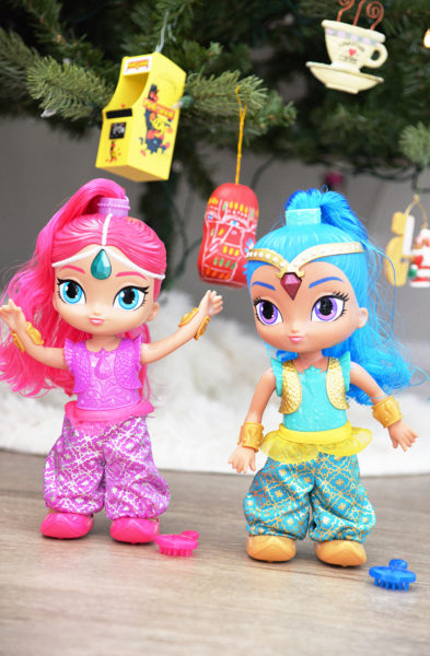 Shimmer and shine genie dance dolls