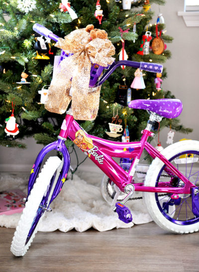 barbie bike walmart 5 year old girl