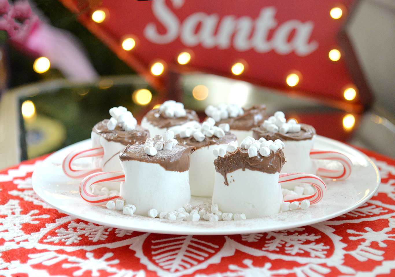 hot coco marshmallow cups party favor treat