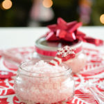 Easy DIY Peppermint Foot Scrub Gift Idea