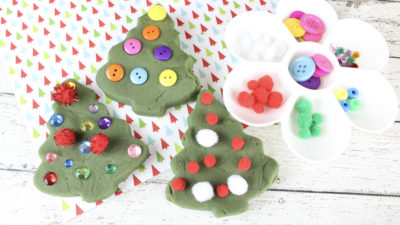 DIY Pine-Scented Playdough