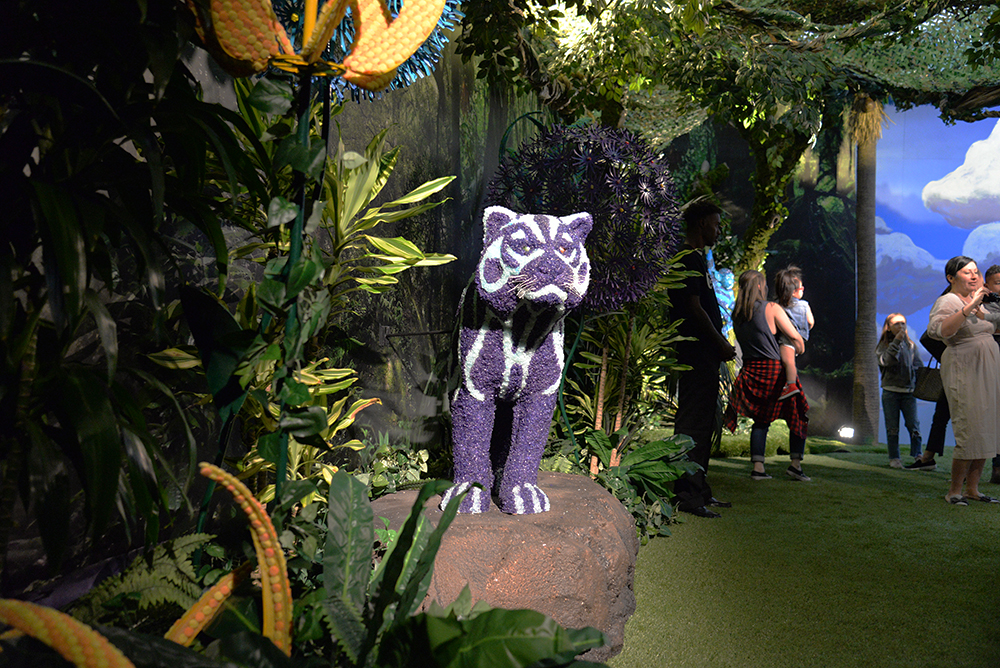 CANDYTOPIA jungle room candy panther