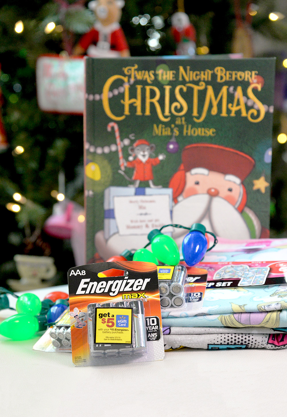 getting ready night before christmas batteries books traditions