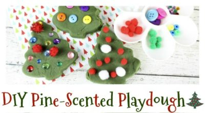 sidebarDIY Pine-Scented Playdough