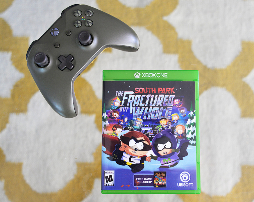 xbox one south park fractured but whole