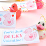 You're Just Ducky Classroom Valentine for Kids