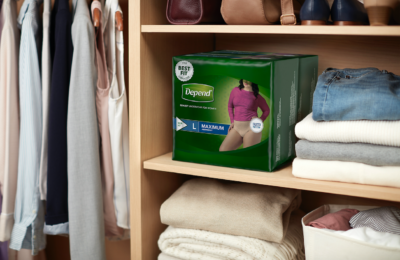 depend fit flex product adult diapers pads