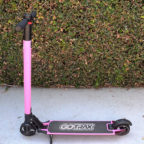 gotrax glider folding electric scooter pink