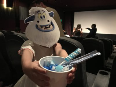 screening smallfoot in theaters