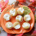 Homemade Lunchbox Snacks - Mini Pumpkin Cheesecake Muffins